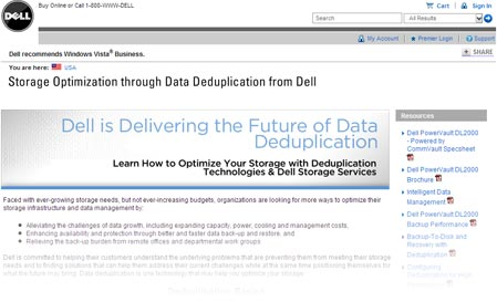Dell - Data Deduplication