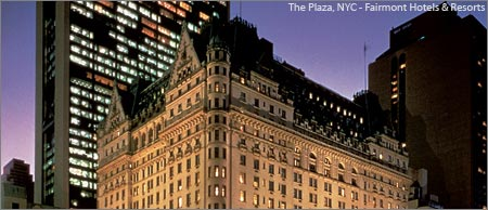 The Plaza Hotel, NYC - Fairmont