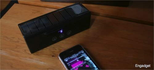 Devotec Bluetooth Solar Speakers - Engadget