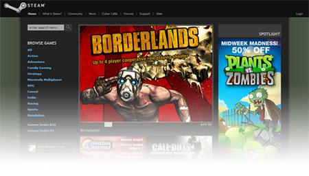 Steam - Holidays 2009