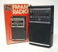 GE - Vintage AM FM Radio