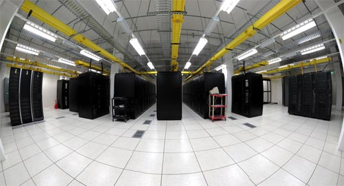 Data Center Aisles - Credit: ~Bob~West~'s photostream