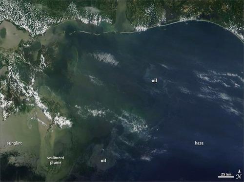 BP Oil Spill - NASA