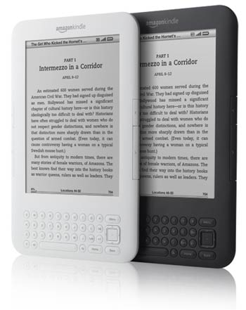 Kindle's kinder to the environment