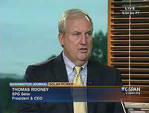 SPG Solar's CEO: Solar cheaper than fossil fuels by 2015