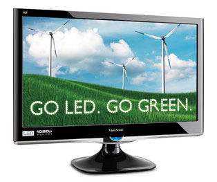 Viewsonic goes all-LED in 2011, mostly