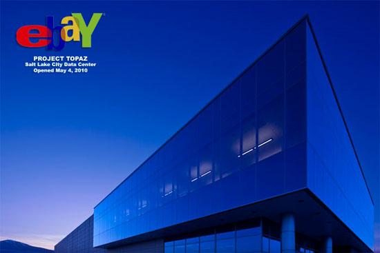 eBay Project Topaz, Utah datacenter