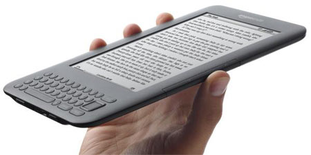Kindle tops Amazon's bestseller list
