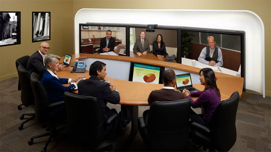 Telepresence today: SAP's sustainability council is allergic to air travel