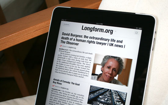 iPad owners, ditch paper mags with Flipboard and Longform.org