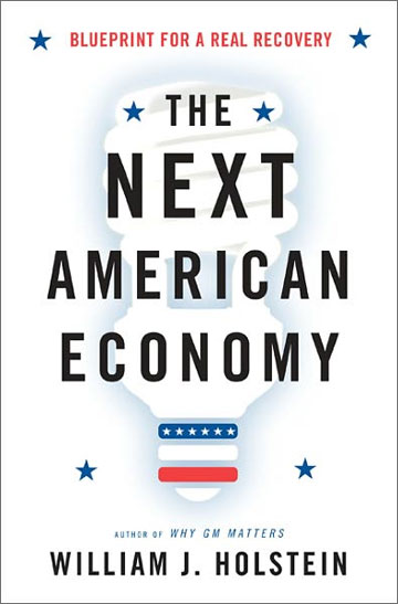 Cool design: The Next American Economy book cover