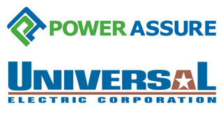 Power Assure software, Universal Electric gear connect on energy management