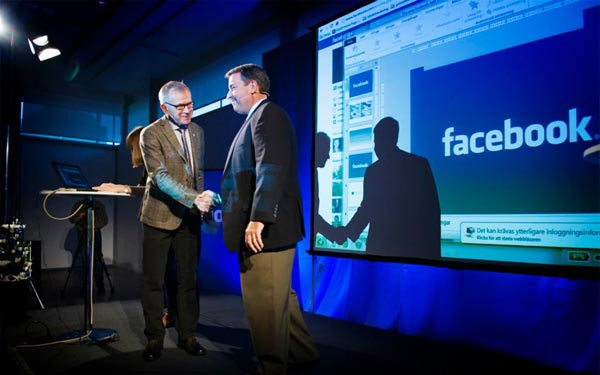 Facebook Lulea data center announcment