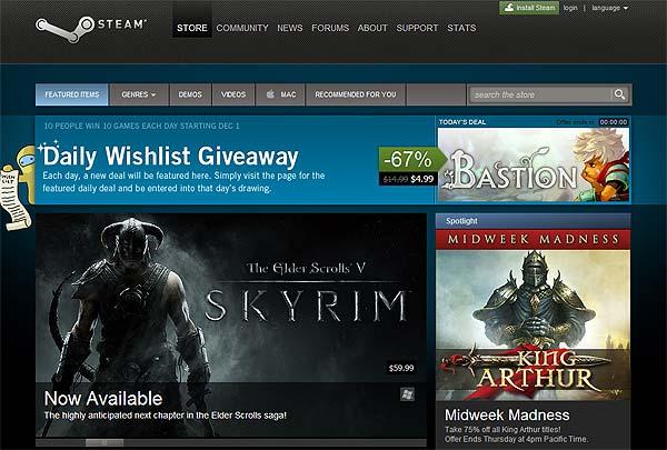 Valve Steam Store