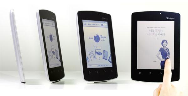 Kyobo Hero Mirasol e-reader