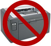 No printouts for you!