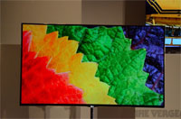CES 2012: LG's 55-inch OLED TV 'making love to our eyes'