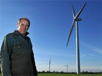 Wind turbines quietly win over skeptics