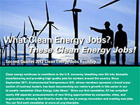 E2's top 10 U.S. states for clean energy jobs