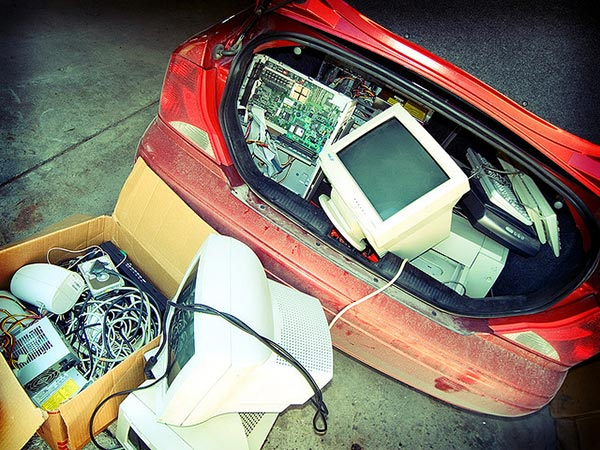 E-waste recycling - Flickr User David Morris