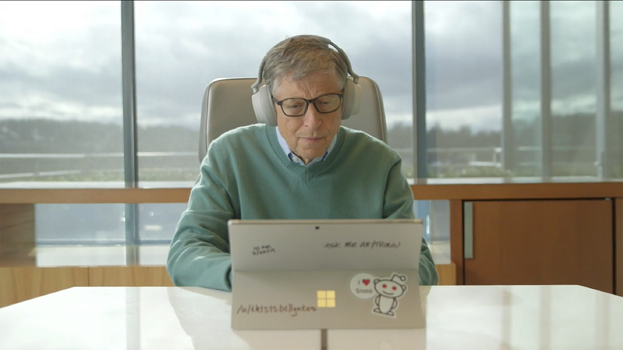 Bill Gates Reddit AMA - February 25, 2019